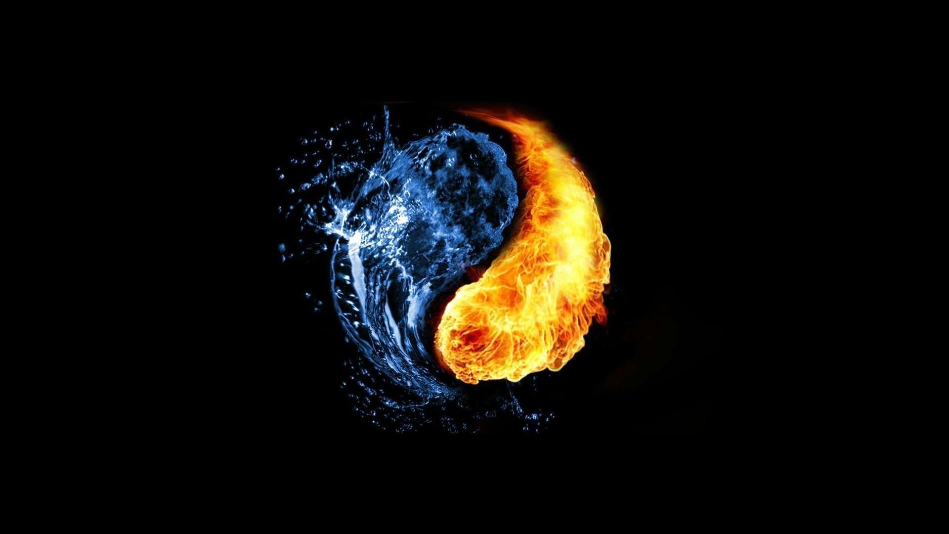 Fire And Ice Wallpapers Abstract Hq Fire And Ice Pictures 4k