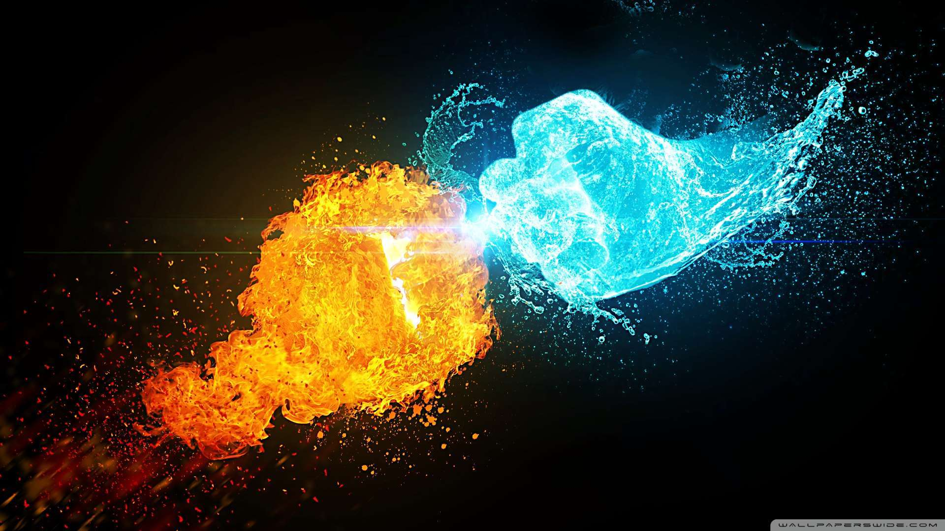 Images of Fire And Ice | 1920x1080