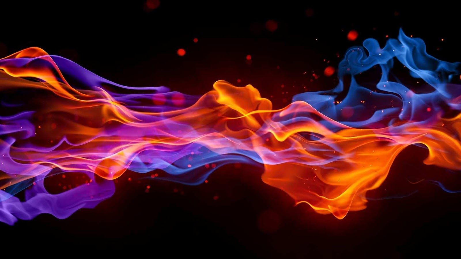Fire And Ice Pics, Abstract Collection