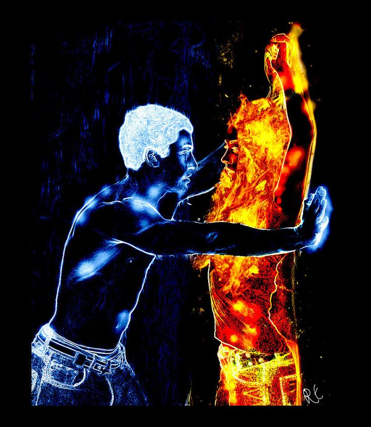 Nice wallpapers Fire And Ice 736x846px