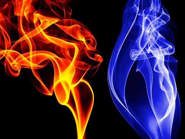 Fire And Ice High Quality Background on Wallpapers Vista