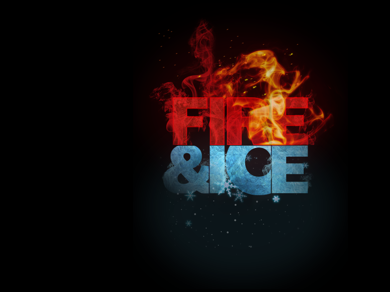 High Resolution Wallpaper | Fire And Ice 800x600 px