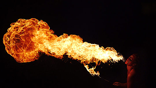 Fire Breather Backgrounds, Compatible - PC, Mobile, Gadgets| 540x304 px