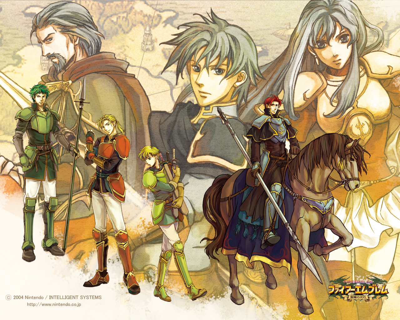 HD Quality Wallpaper | Collection: Video Game, 1280x1024 Fire Emblem: The Sacred Stones