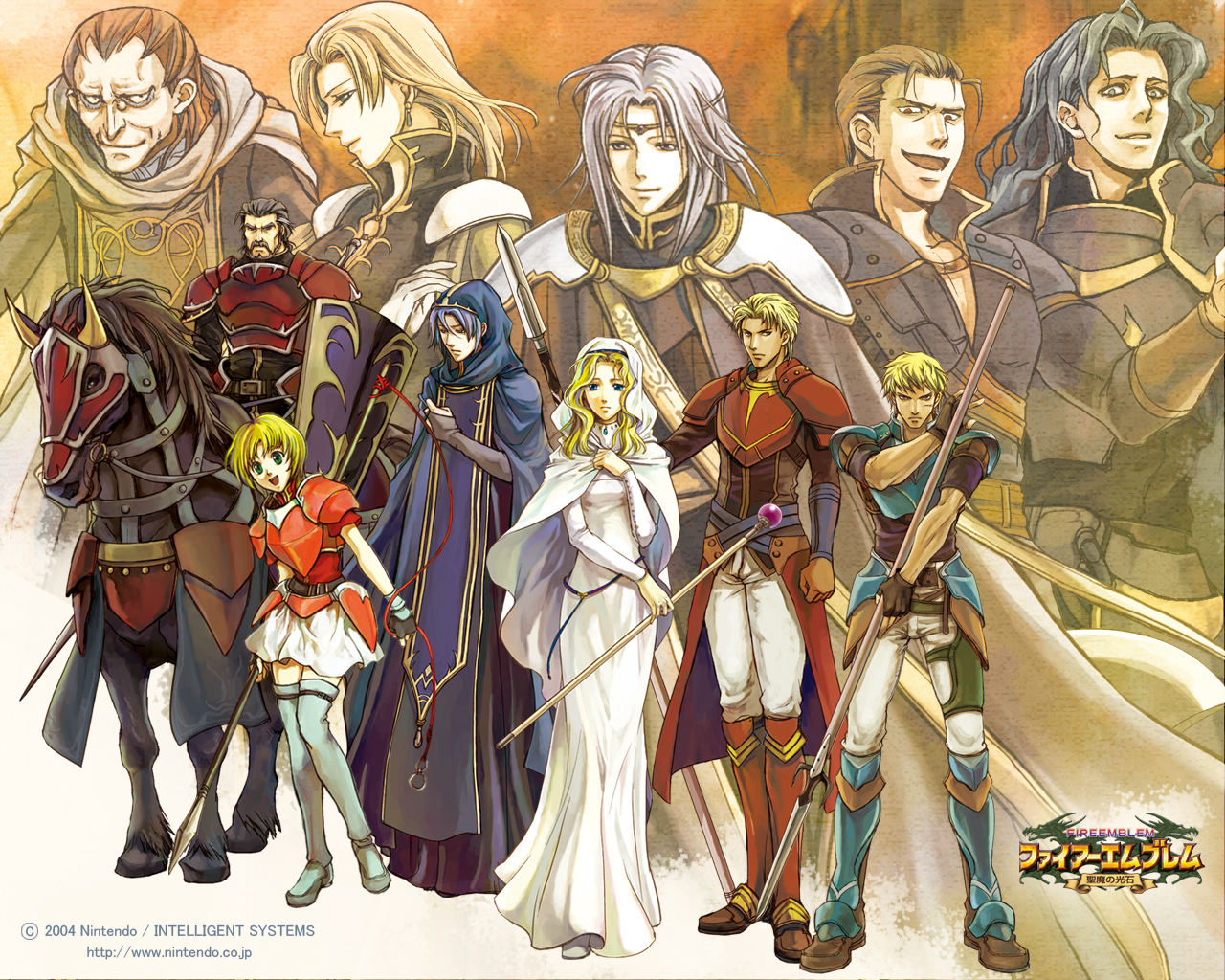 Nice Images Collection: Fire Emblem: The Sacred Stones Desktop Wallpapers