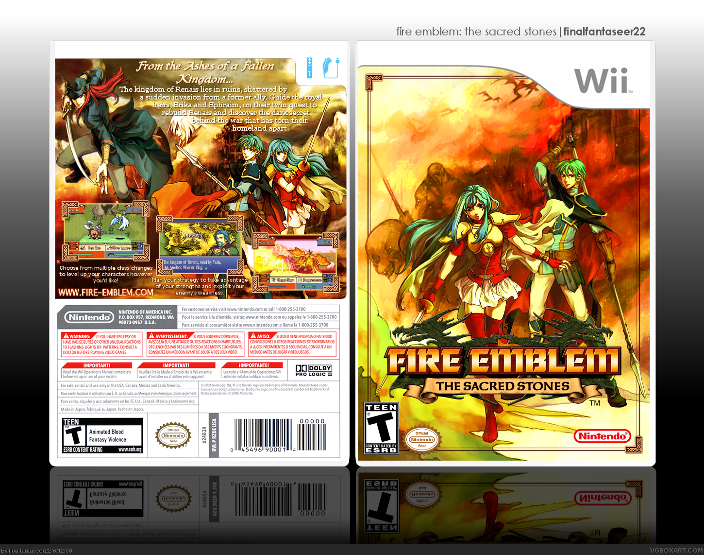Nice wallpapers Fire Emblem: The Sacred Stones 1450x1142px