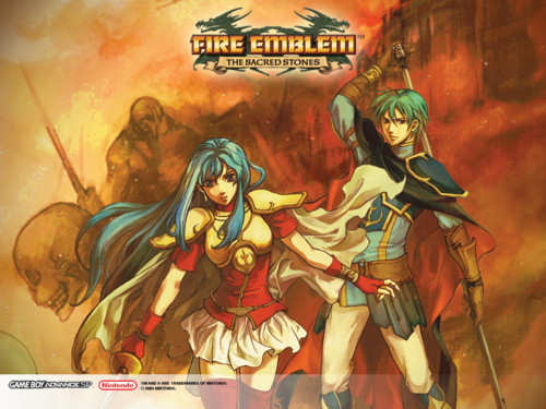 HD Quality Wallpaper | Collection: Video Game, 500x375 Fire Emblem: The Sacred Stones