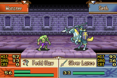 HD Quality Wallpaper | Collection: Video Game, 480x320 Fire Emblem: The Sacred Stones