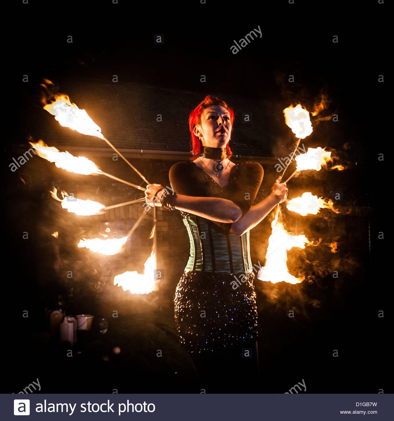 High Resolution Wallpaper   Fire Juggling 1300x1390 px