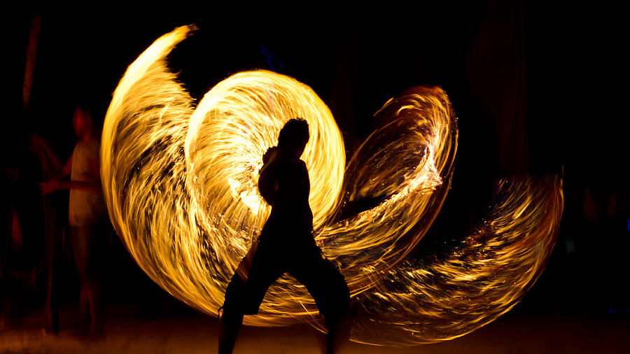 Nice Images Collection: Fire Juggling Desktop Wallpapers