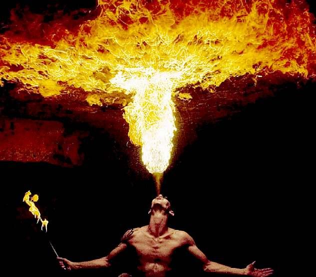 High Resolution Wallpaper   Fire Juggling 633x554 px