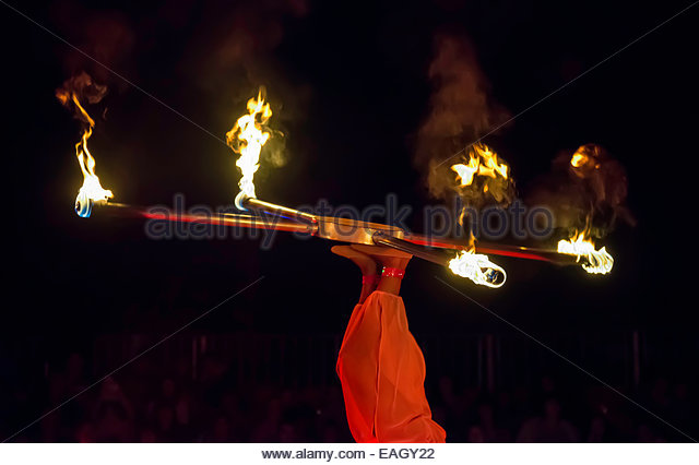 Fire Juggling High Quality Background on Wallpapers Vista