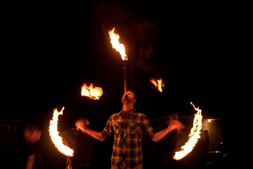 Fire Juggling Backgrounds on Wallpapers Vista