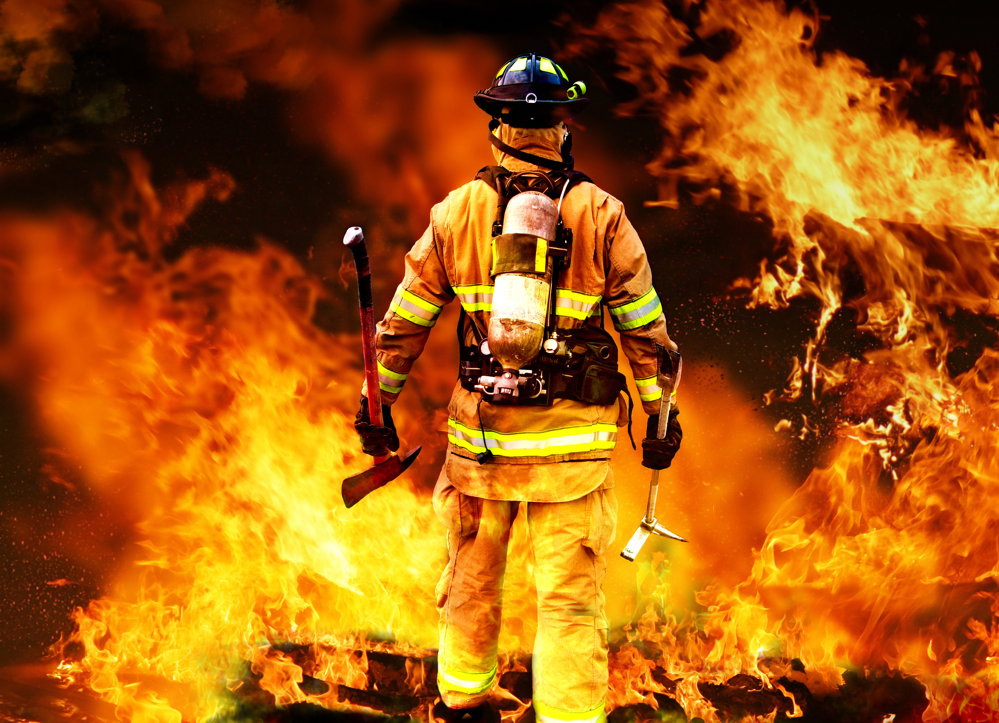 Firefighter Backgrounds, Compatible - PC, Mobile, Gadgets| 3499x2534 px