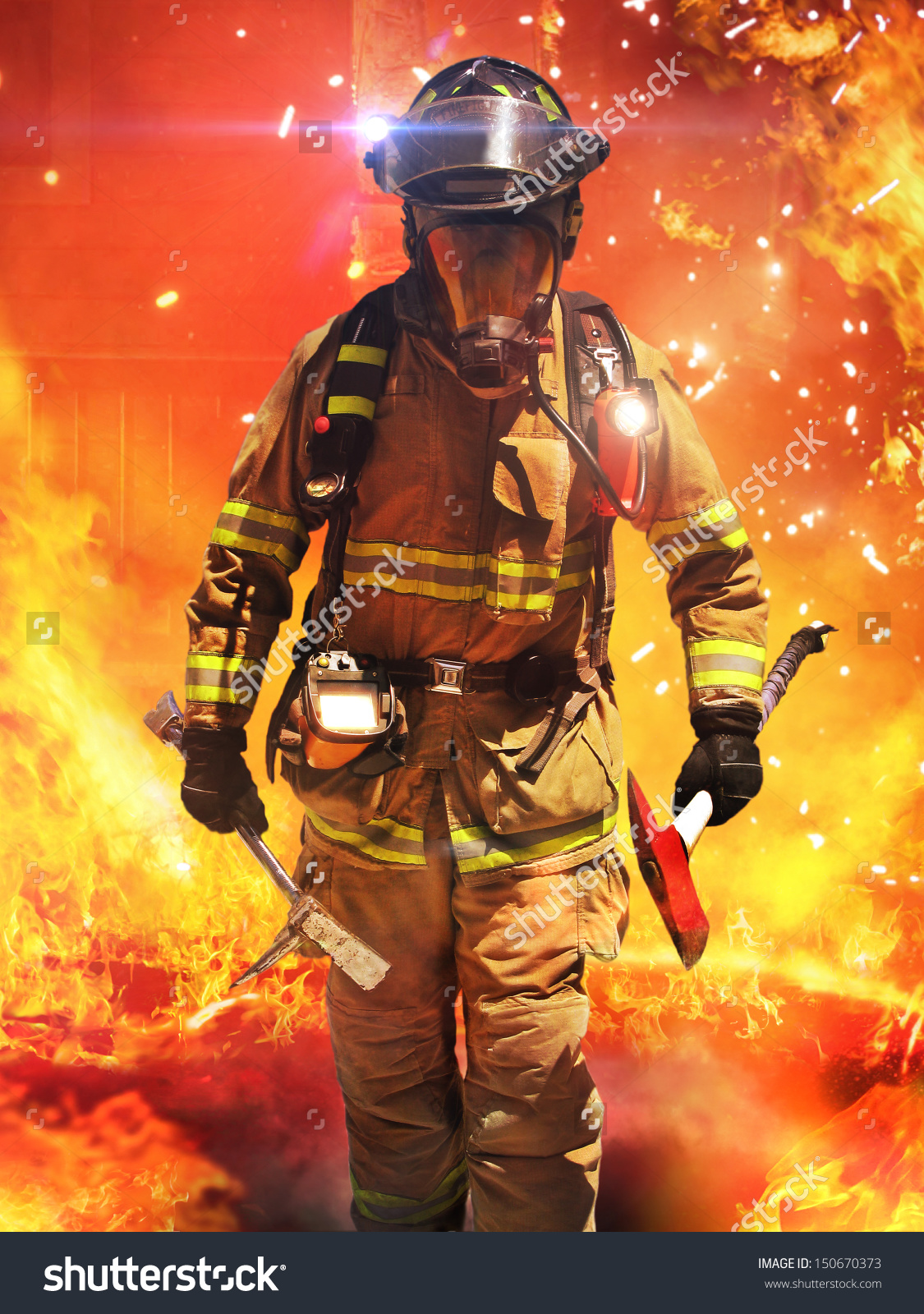 Firefighter Pics, Men Collection