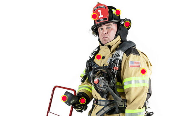 Nice wallpapers Firefighter 594x391px