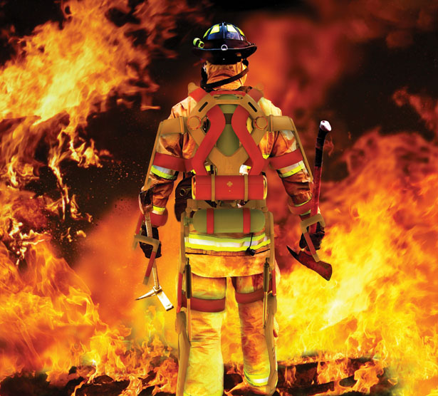 Nice Images Collection: Firefighter Desktop Wallpapers