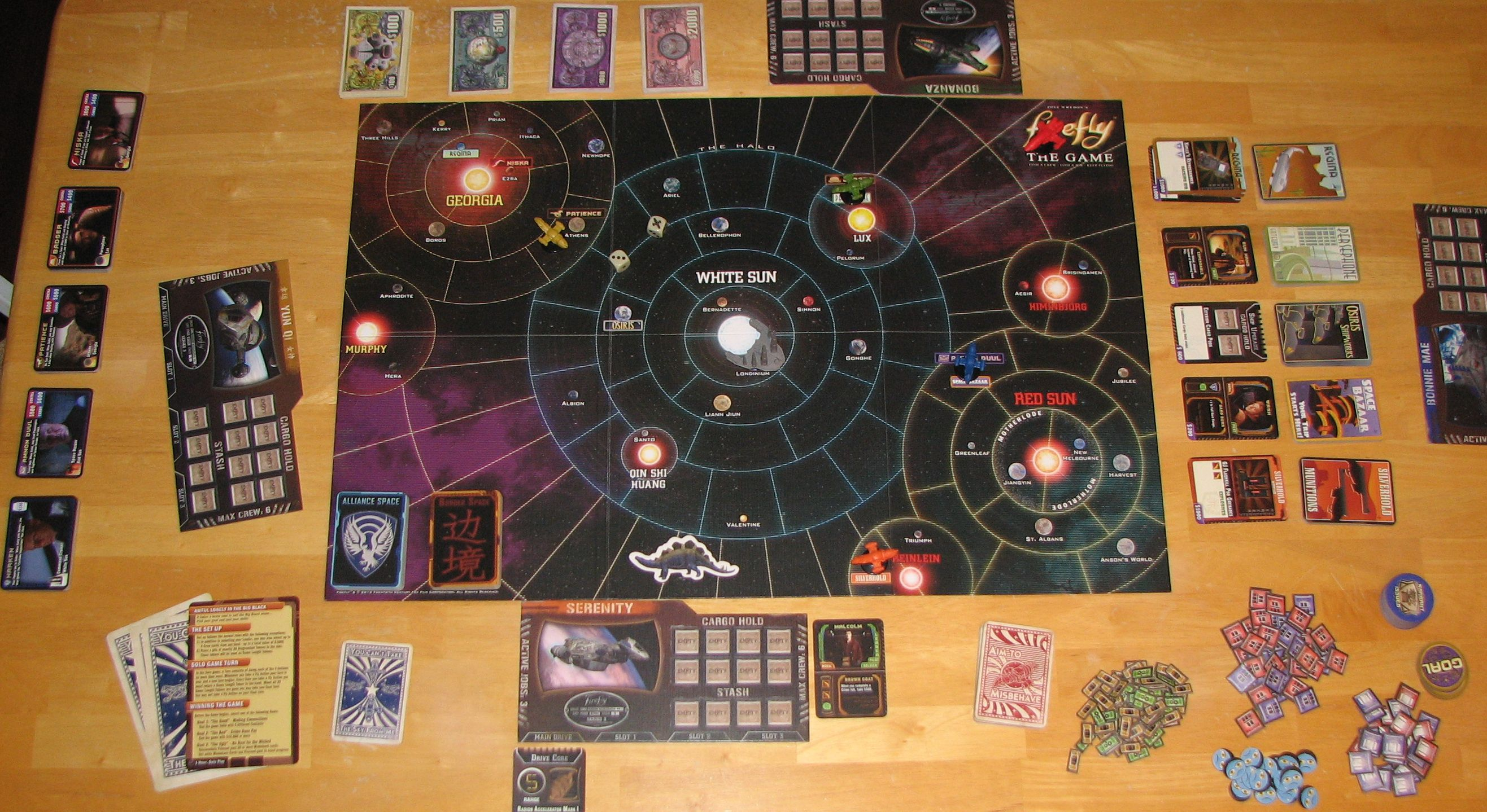 HQ Firefly: The Board Game Wallpapers   File 664.61Kb
