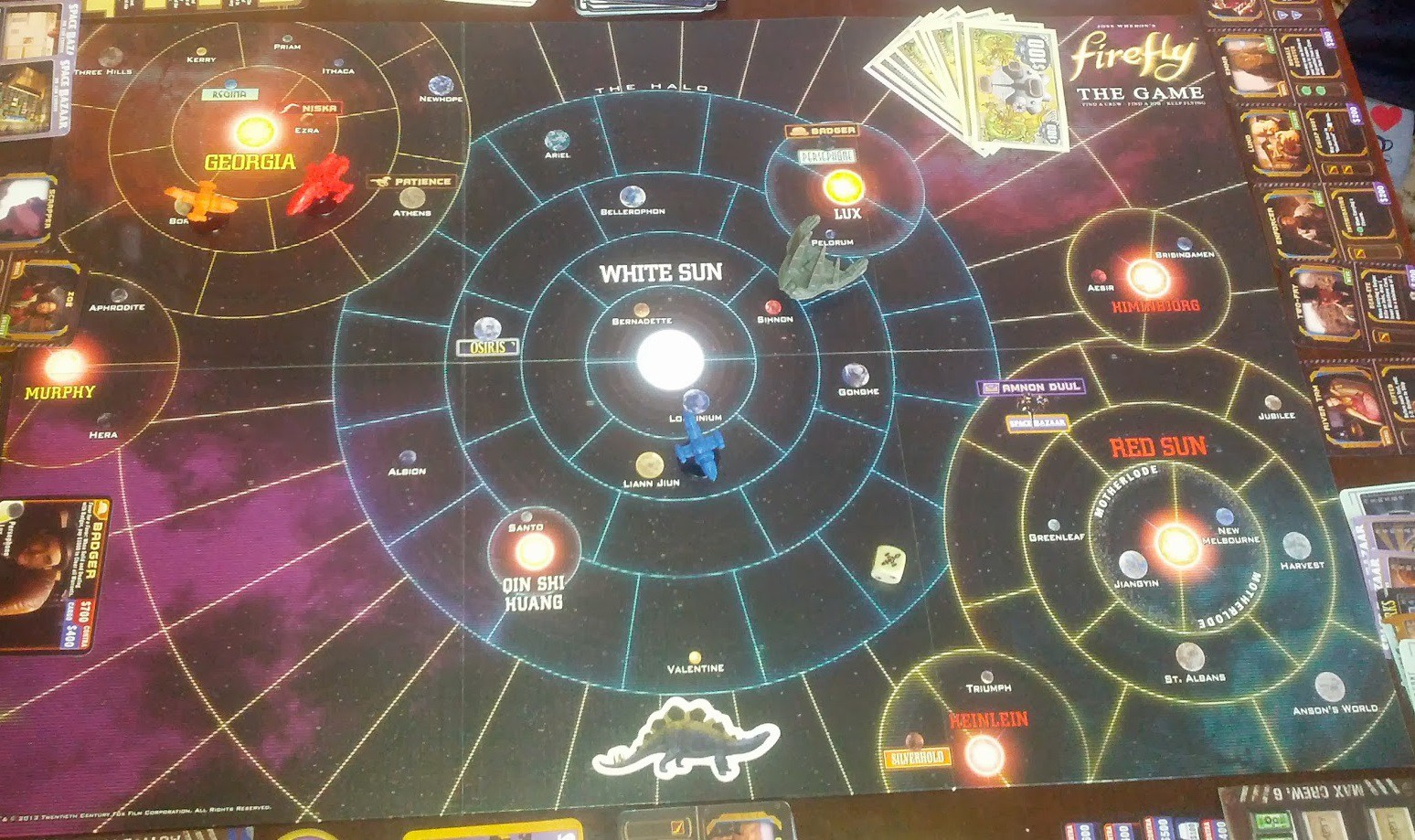 Nice Images Collection: Firefly: The Board Game Desktop Wallpapers