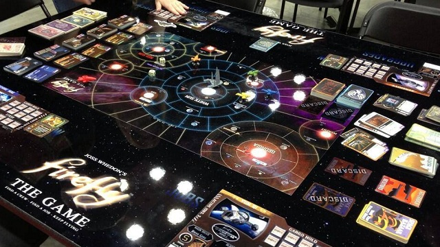 Firefly: The Board Game Pics, Game Collection