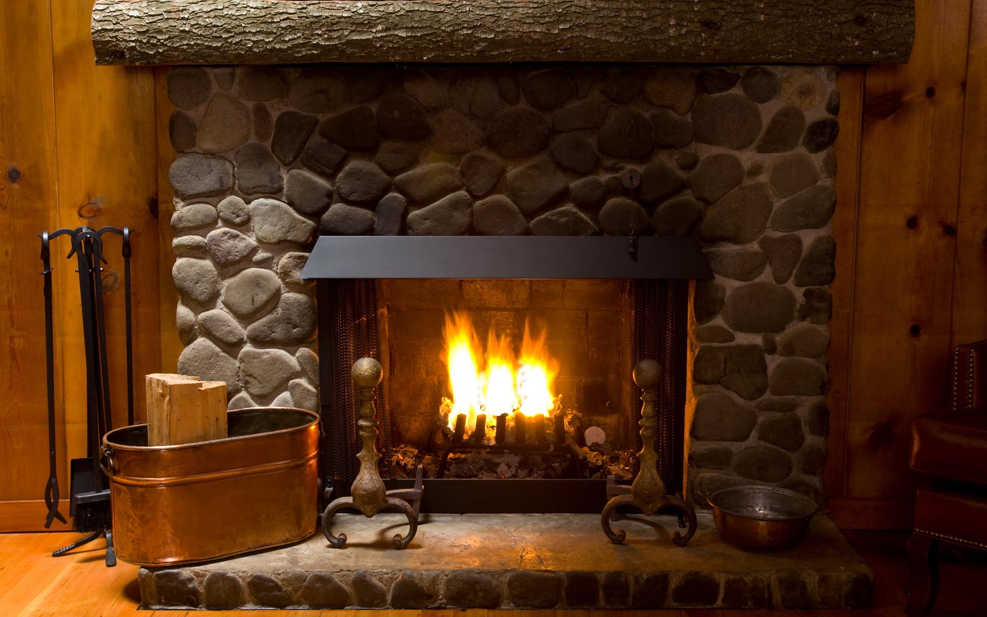 Nice Images Collection: Fireplace Desktop Wallpapers