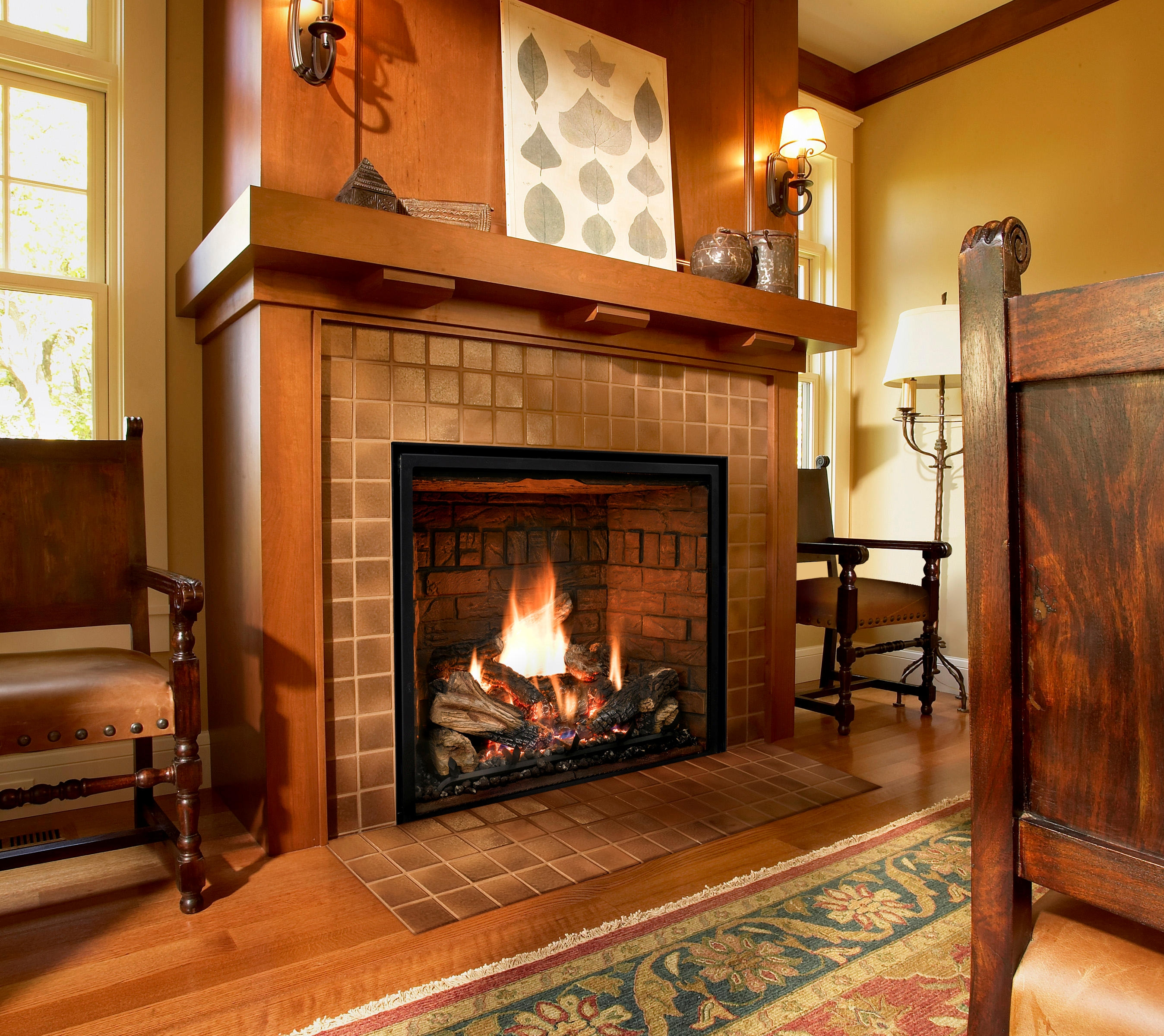 Fireplace High Quality Background on Wallpapers Vista