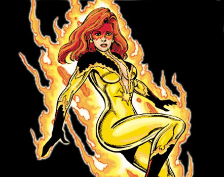 HD Quality Wallpaper | Collection: Comics, 442x350 Firestar