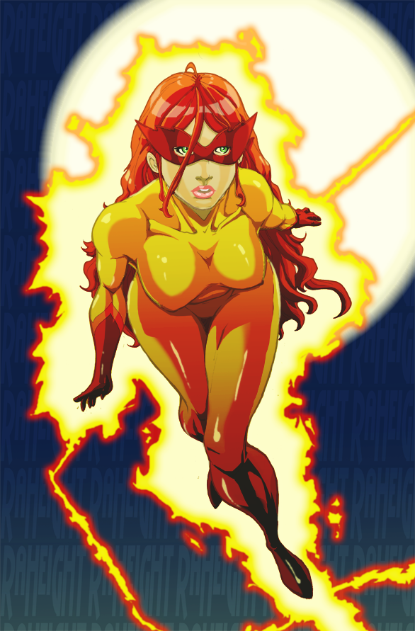 HD Quality Wallpaper | Collection: Comics, 586x891 Firestar