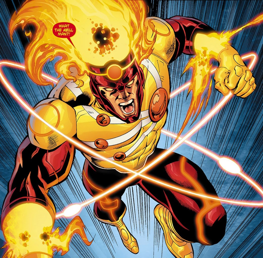 HD Quality Wallpaper | Collection: Comics, 1041x1022 Firestorm