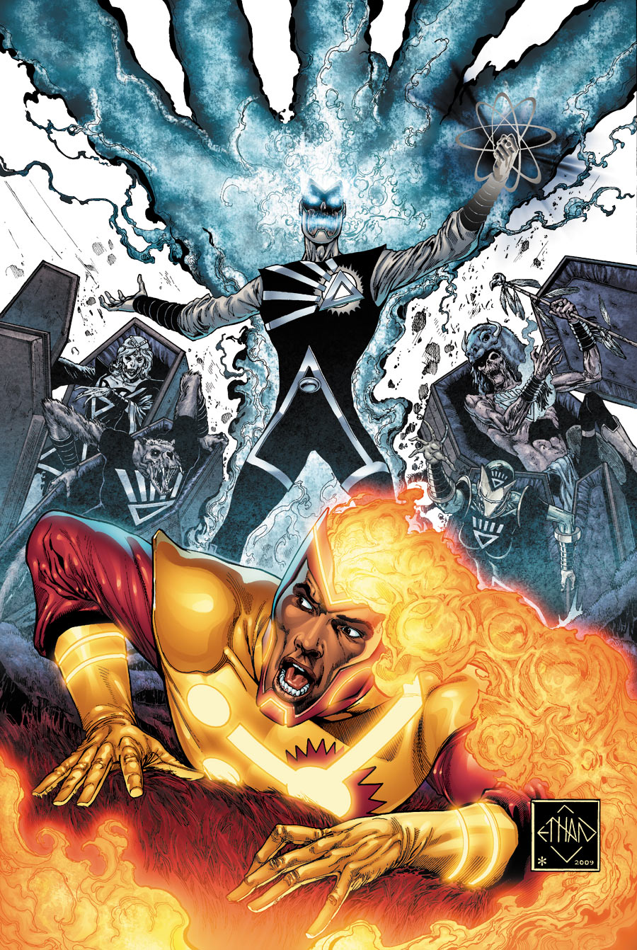 HD Quality Wallpaper | Collection: Comics, 900x1342 Firestorm