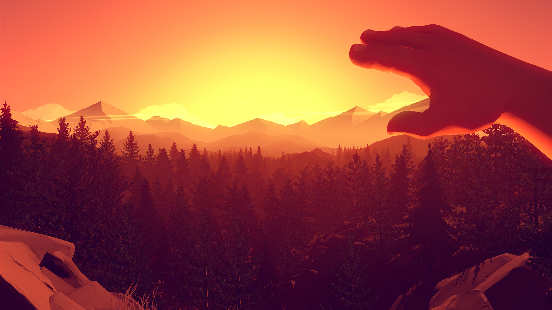HD Quality Wallpaper | Collection: Video Game, 1920x1080 Firewatch