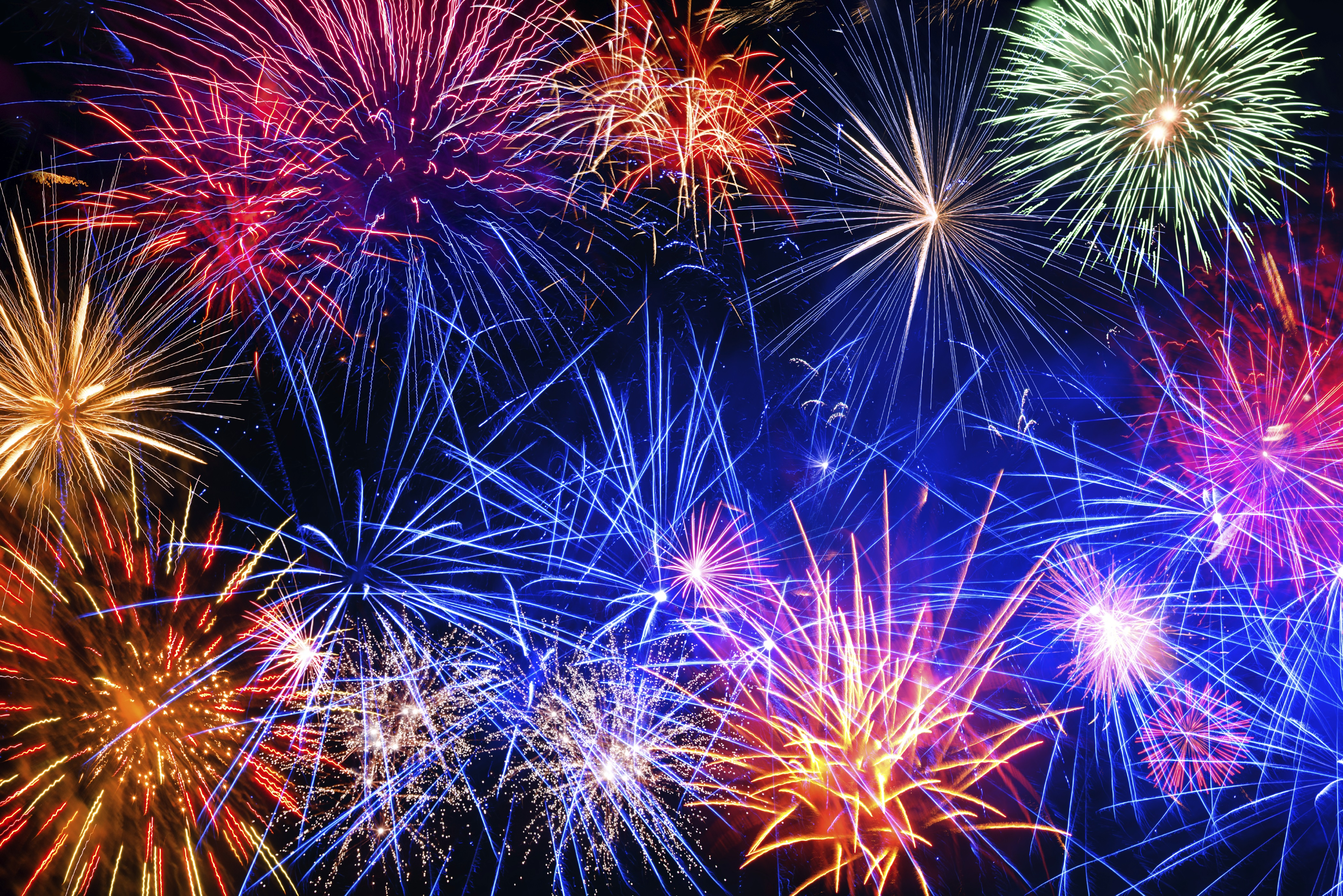 Nice wallpapers Fireworks 4198x2801px
