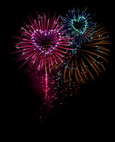 HD Quality Wallpaper | Collection: Artistic, 373x457 Fireworks