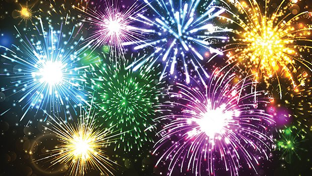 Nice wallpapers Fireworks 620x349px
