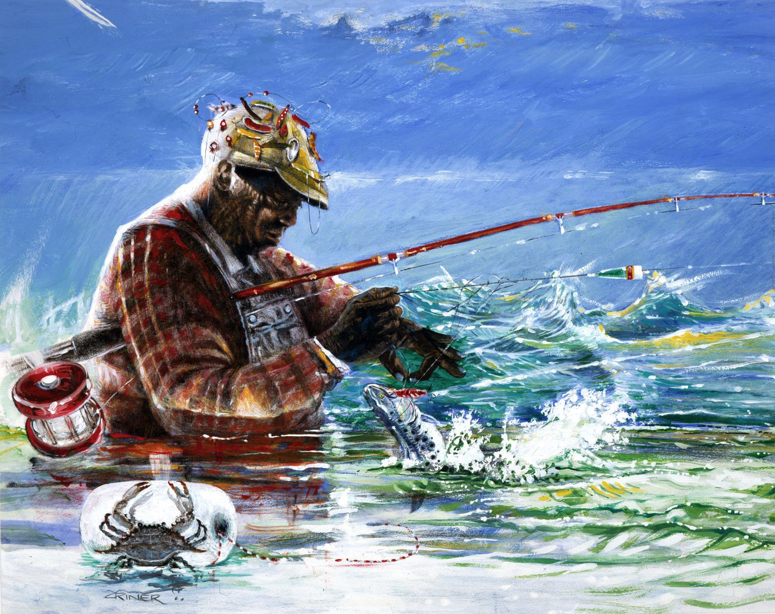Nice wallpapers Fisherman 1515x1200px