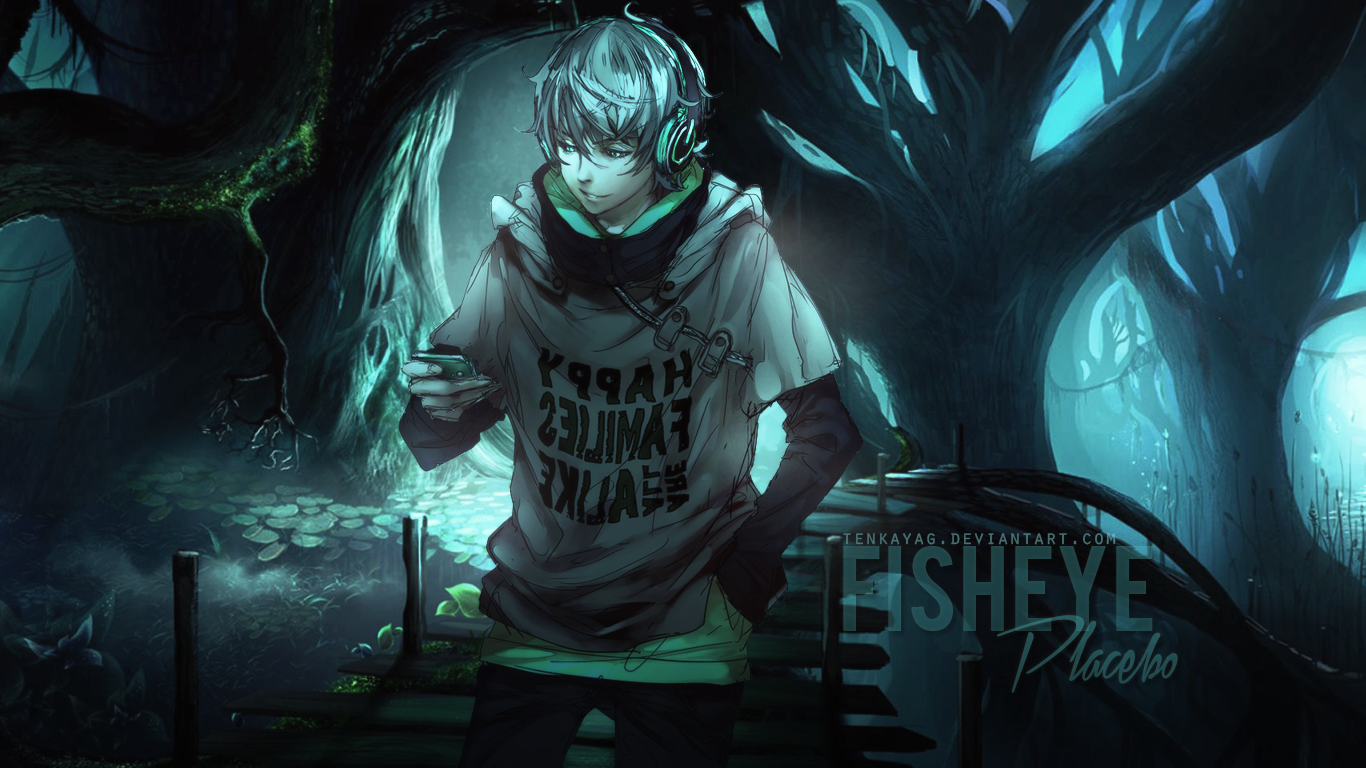 Fisheye Placebo Backgrounds, Compatible - PC, Mobile, Gadgets  1366x768 px