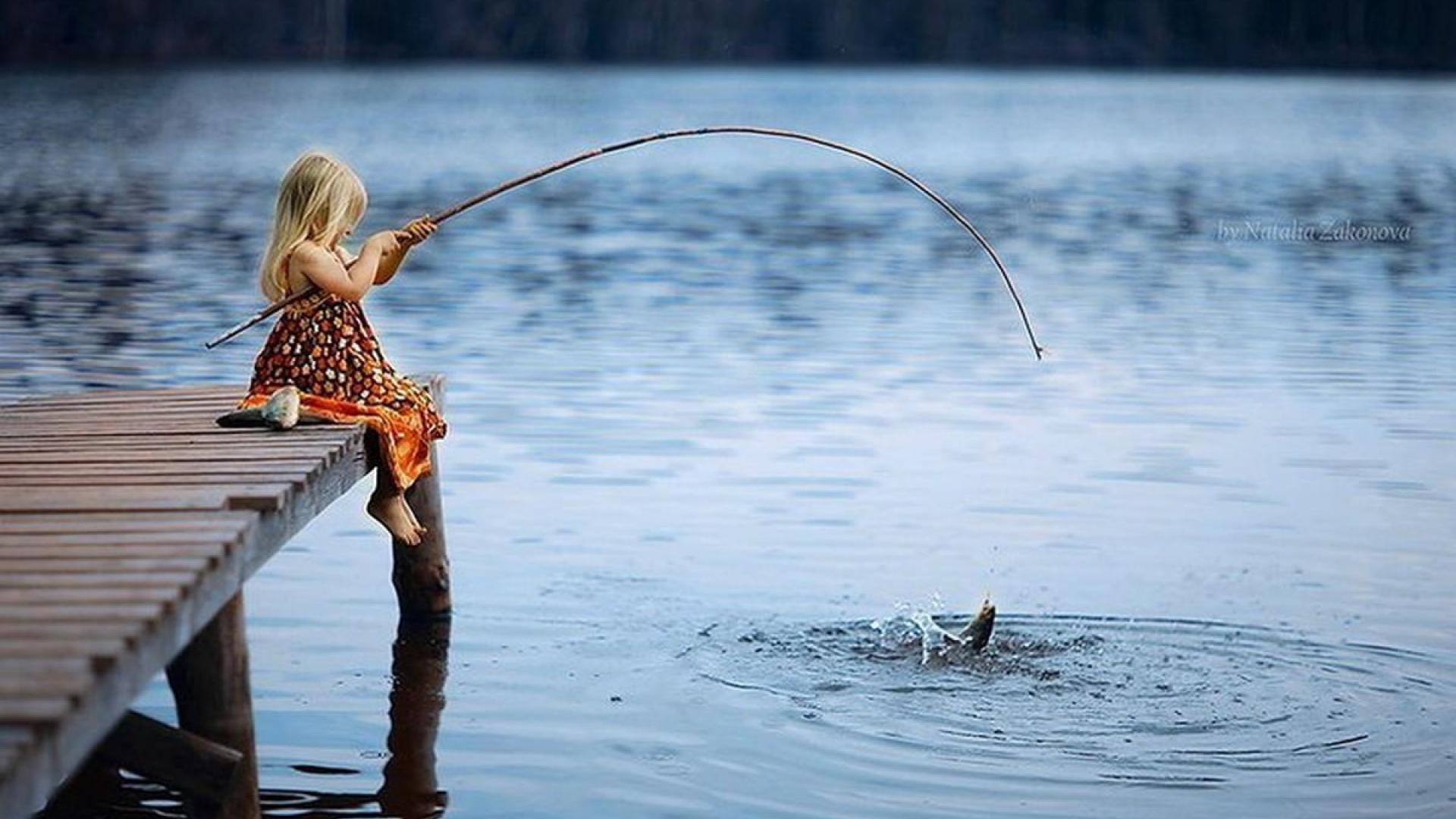 Nice Images Collection: Fishing Desktop Wallpapers