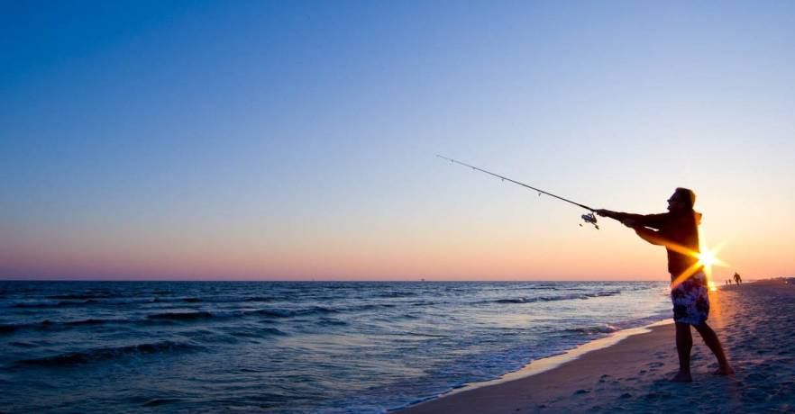HD Quality Wallpaper | Collection: Sports, 882x460 Fishing