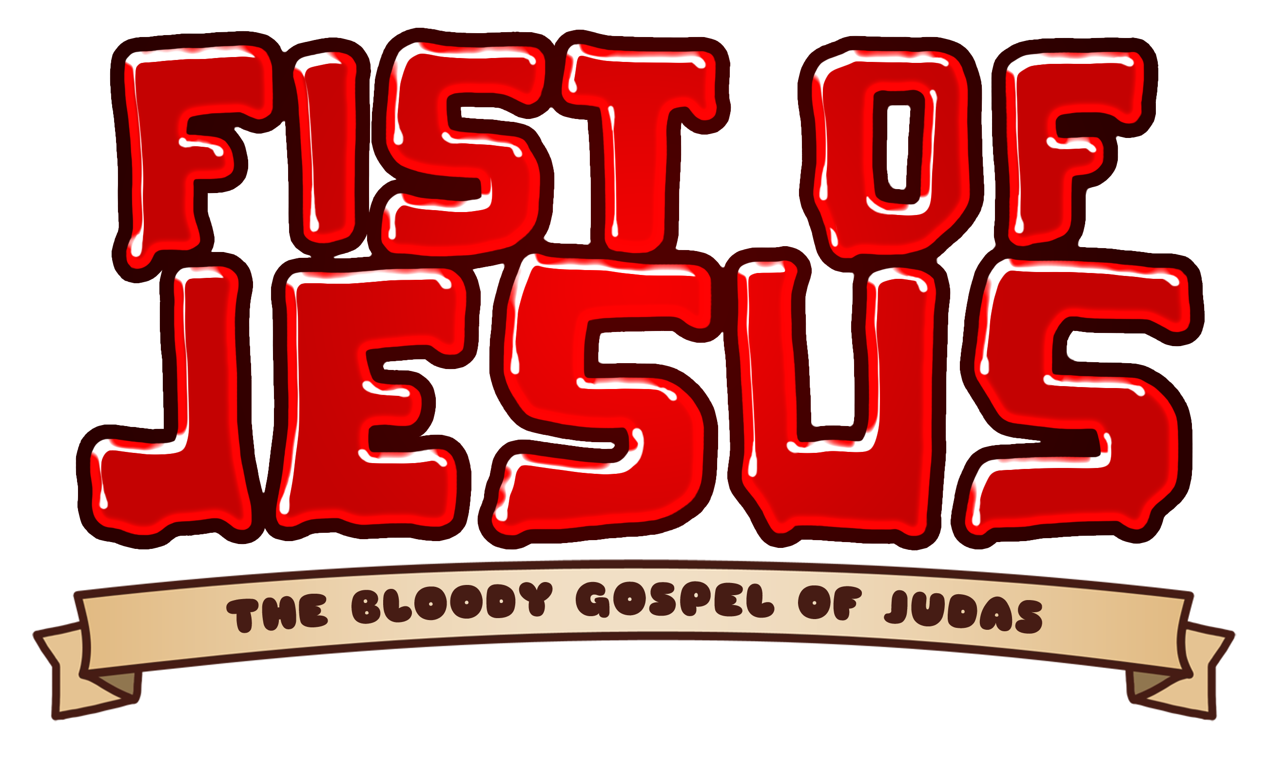 HD Quality Wallpaper | Collection: Video Game, 2599x1555 Fist Of Jesus