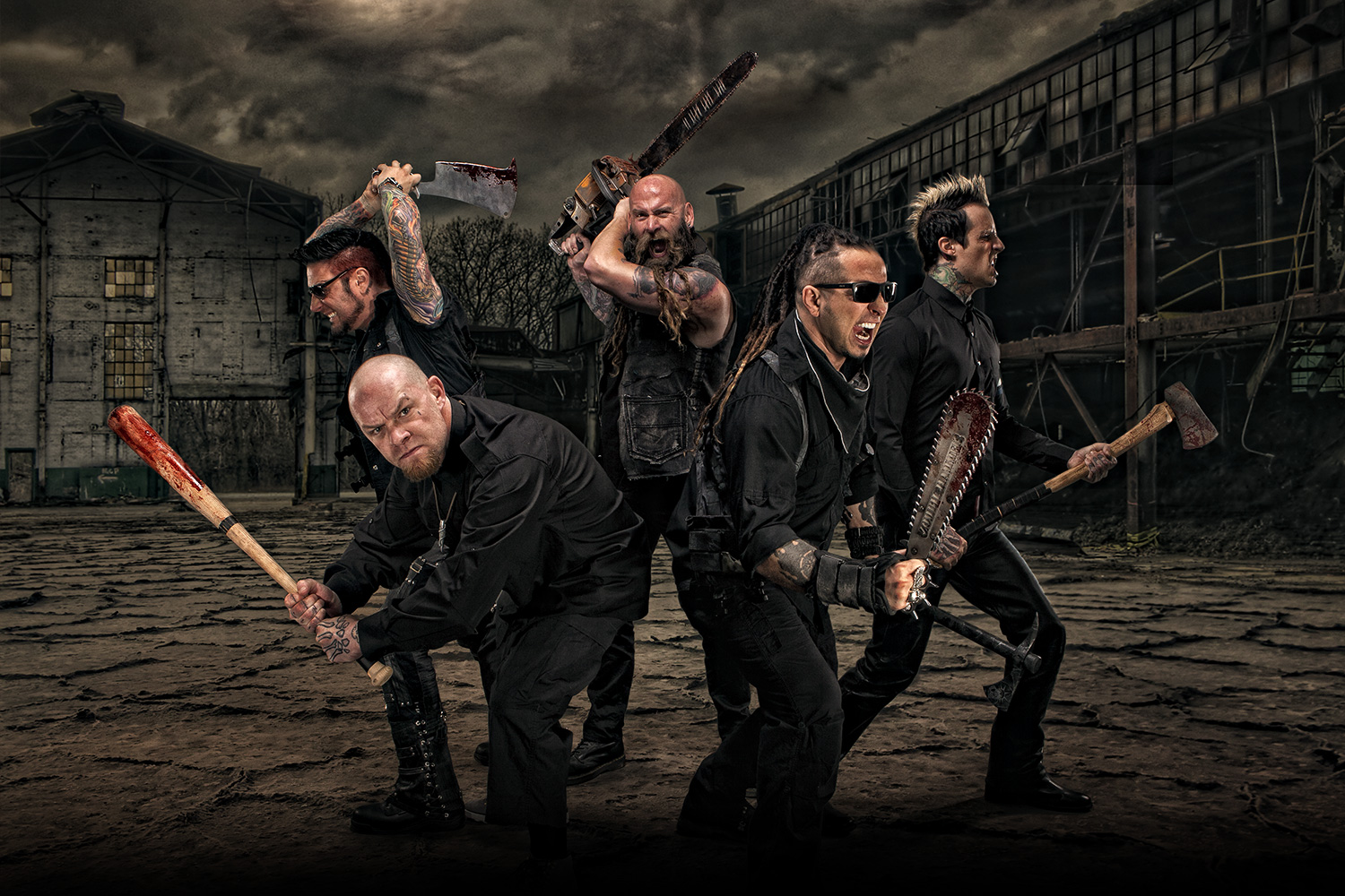 Five Finger Death Punch Wallpapers Music Hq Five Finger