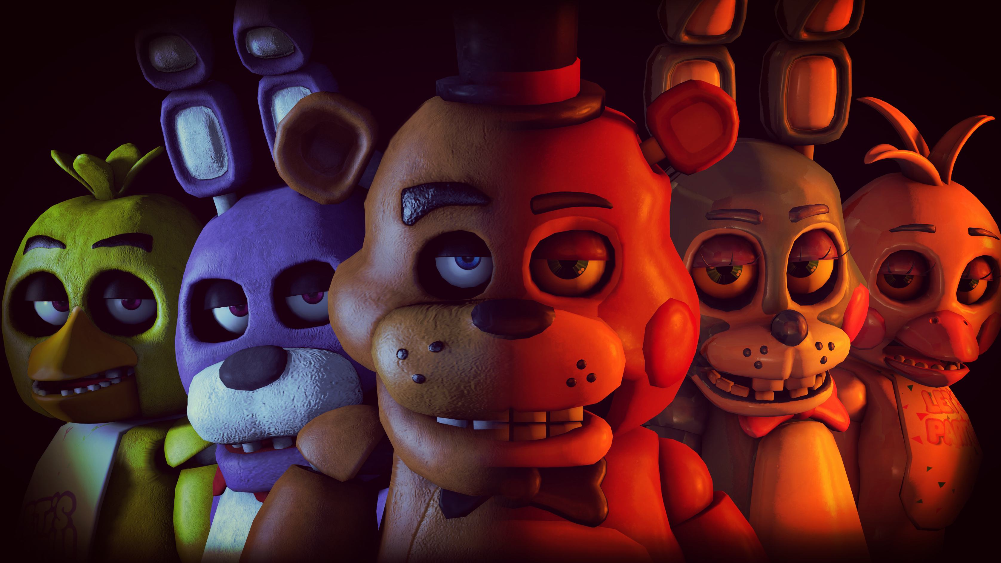 Nice Images Collection: Five Nights At Freddy's Desktop Wallpapers