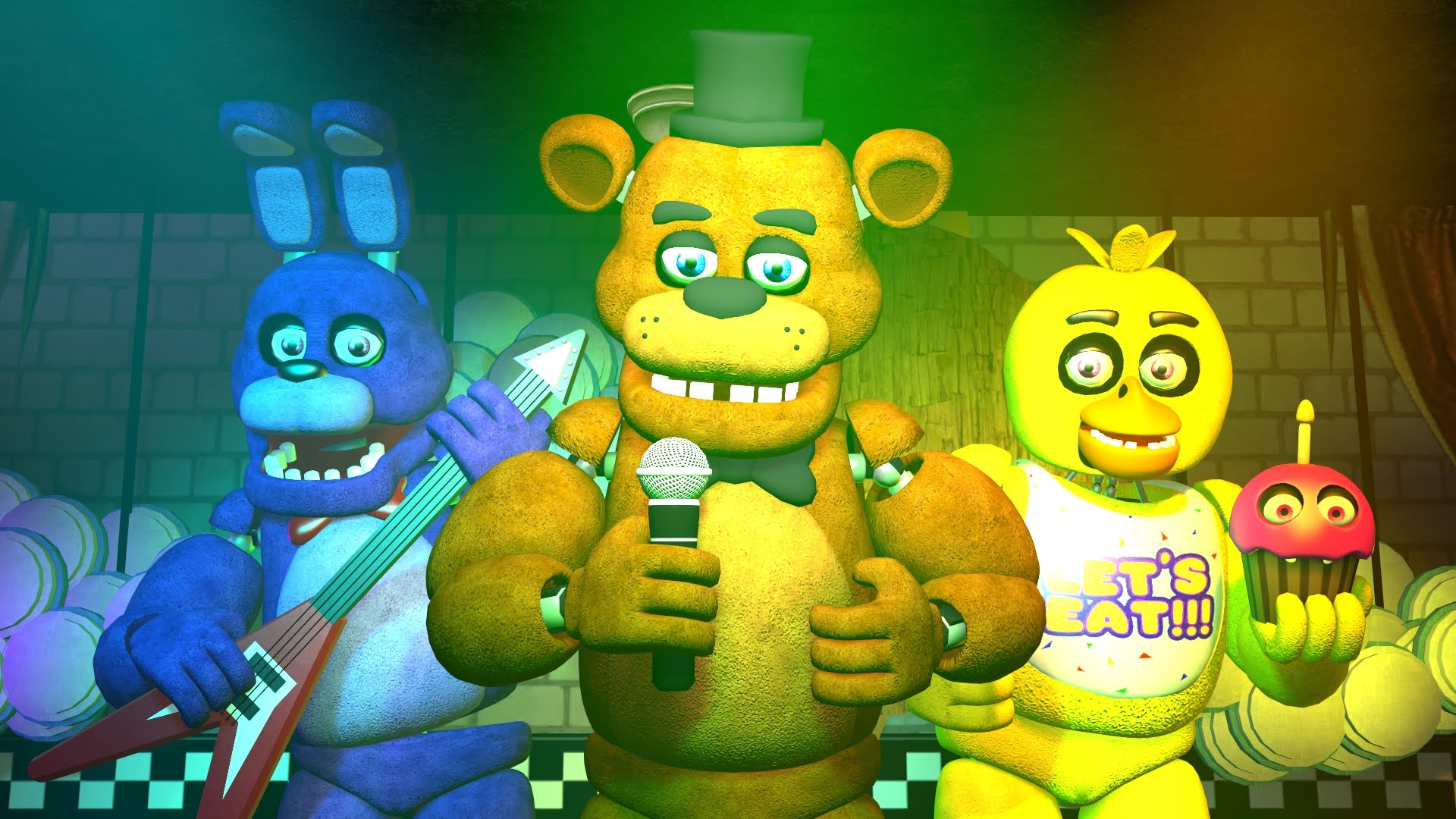 Five Nights At Freddy's Backgrounds, Compatible - PC, Mobile, Gadgets| 1920x1080 px