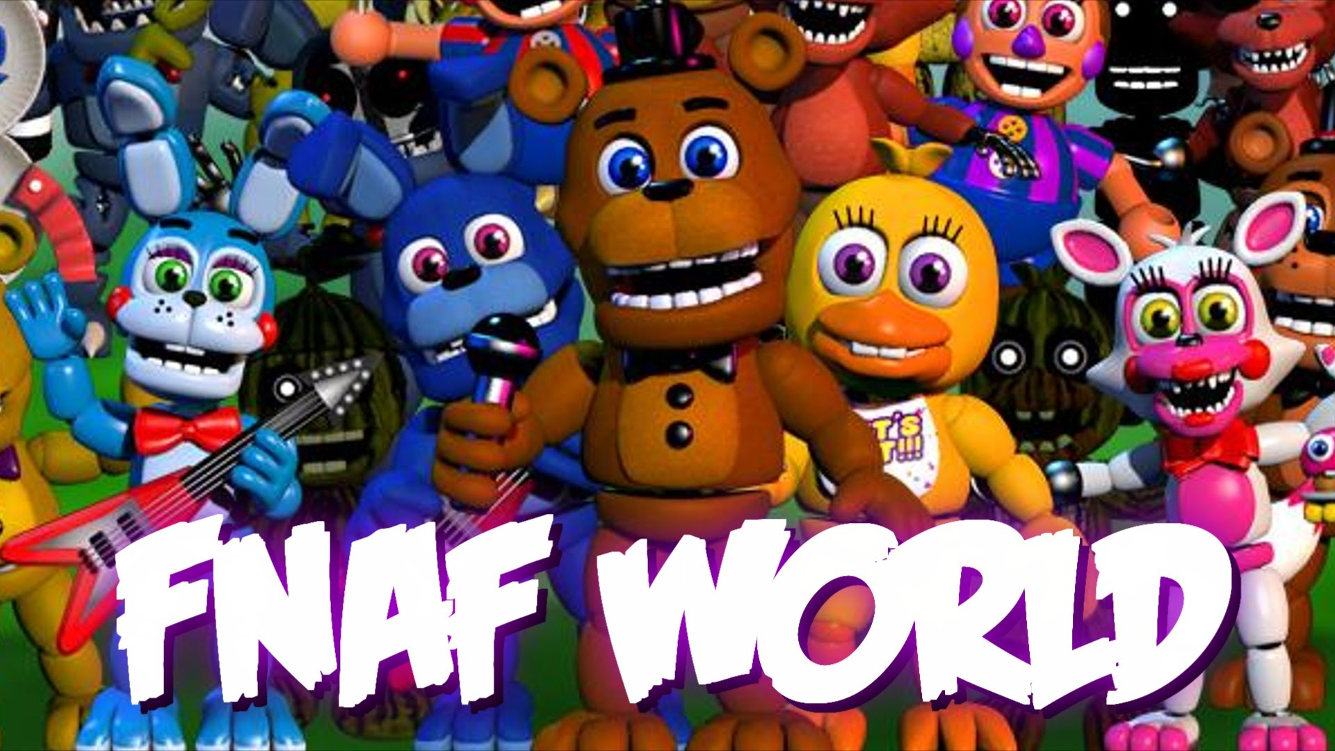 HD Quality Wallpaper | Collection: Video Game, 1920x1080 Five Nights At Freddy's