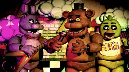 Five Nights At Freddy's Backgrounds on Wallpapers Vista