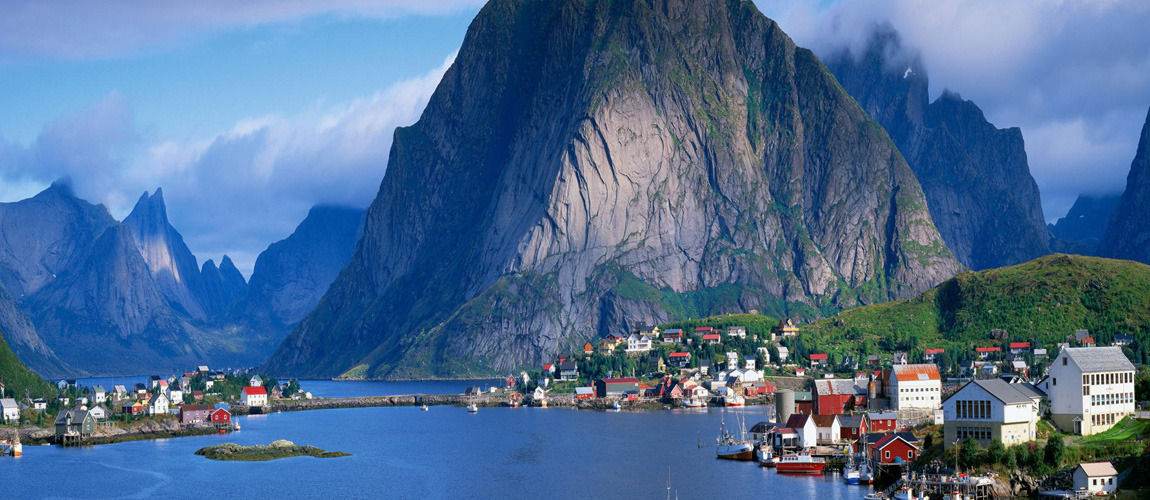 Nice Images Collection: Fjord Desktop Wallpapers
