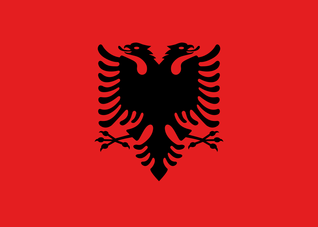 Images of Flag Of Albania | 1280x914