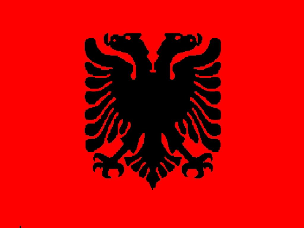 Nice wallpapers Flag Of Albania 1024x768px