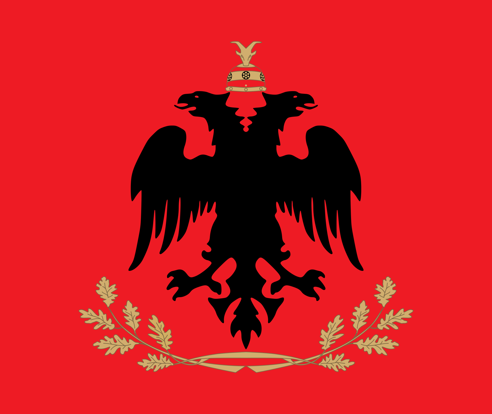 Nice wallpapers Flag Of Albania 2000x1686px