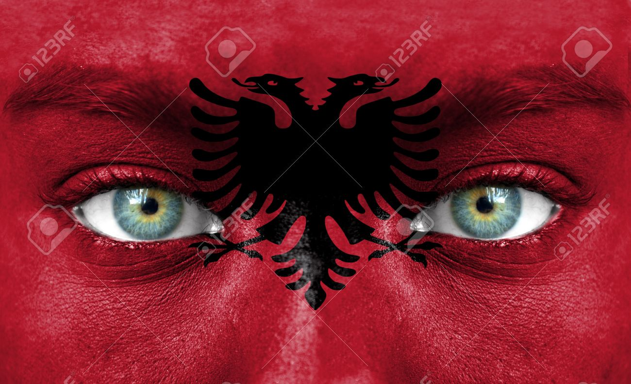 HD Quality Wallpaper | Collection: Misc, 1300x793 Flag Of Albania