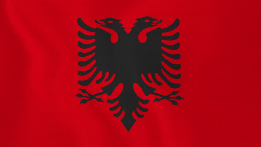Flag Of Albania High Quality Background on Wallpapers Vista
